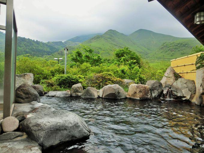 由布岳に一番近い温泉がウリ!