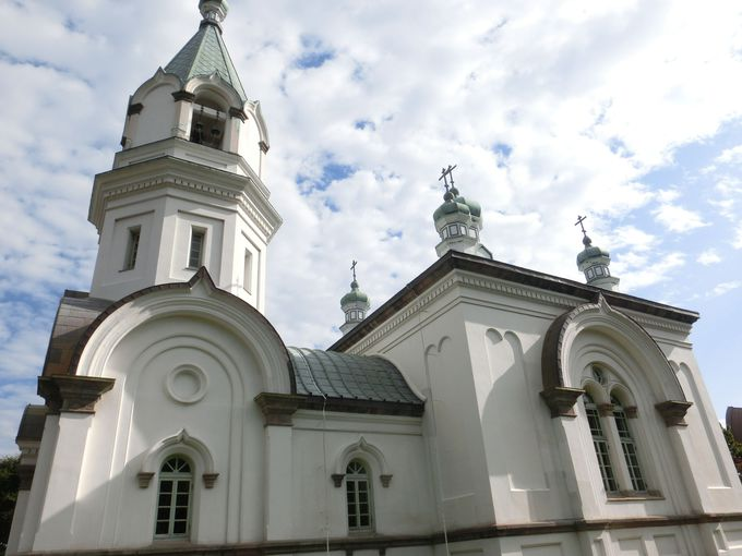 カトリック教会とは趣の違う「函館ハリストス正教会」