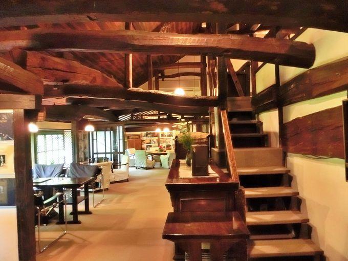 湯布院カフェ御三家のひとつ天井桟敷