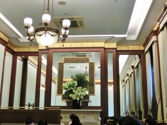 上野駅の旧貴賓室を活かした「ブラッスリーレカン」
