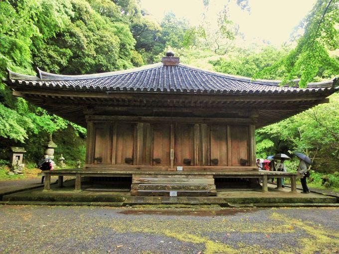 福山ファンには嬉しい国宝の大堂