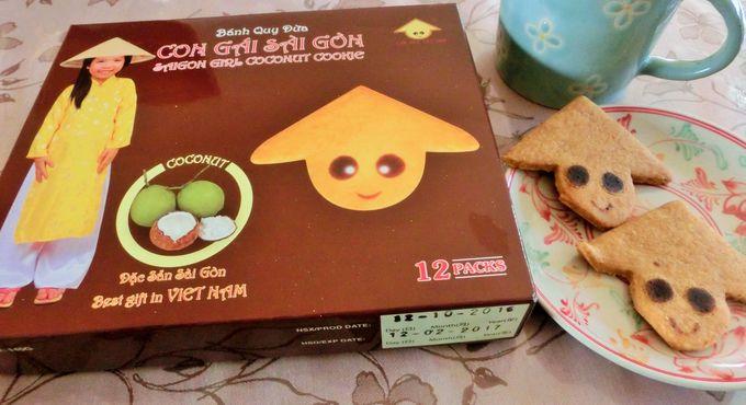 サイゴンガール ココナッツクッキー