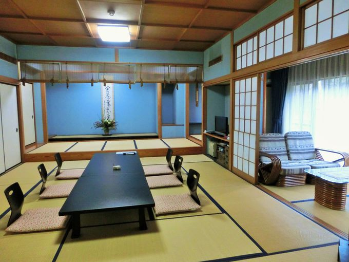 癒しの純和風の客室