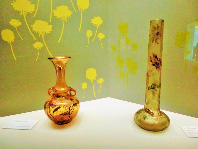 人気の高いエミール・ガレの作品