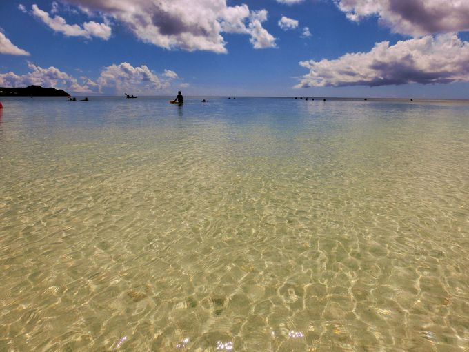 感動の美しいビーチ