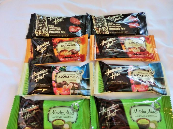 定番マカデミアナッツのチョコレート