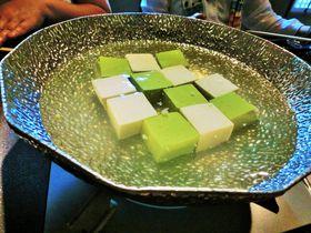 京都嵐山「豆腐料理松ヶ枝」で味わう市松模様の湯豆腐はコスパも嬉しい!