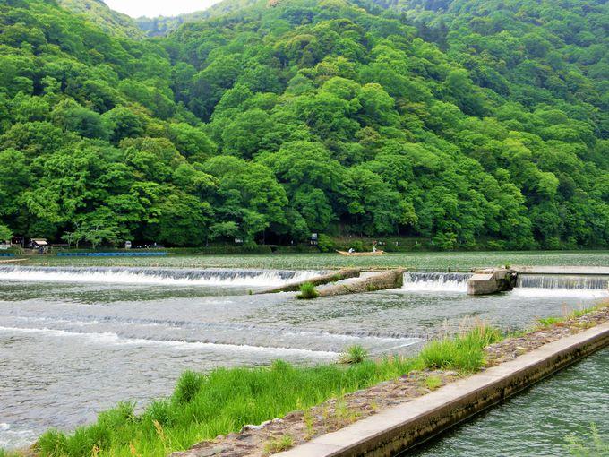嵐山は京都観光の人気スポット