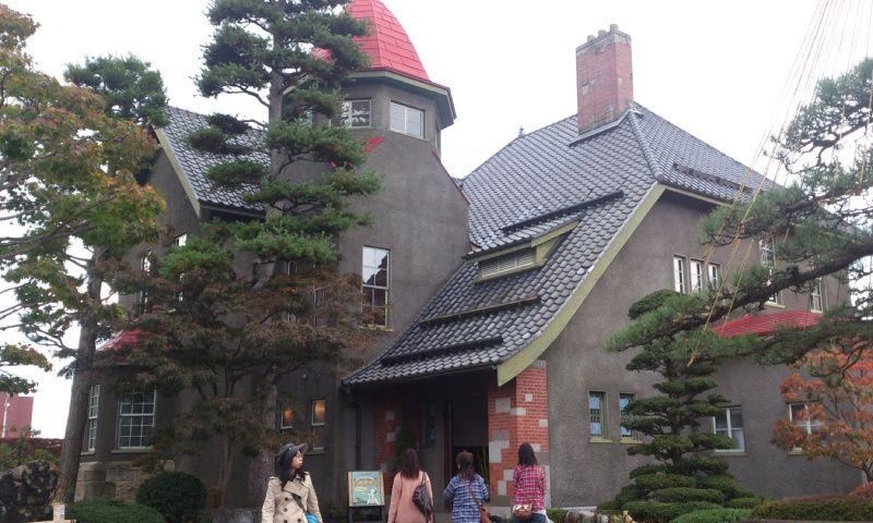 大正時代に建設された、個人の別邸