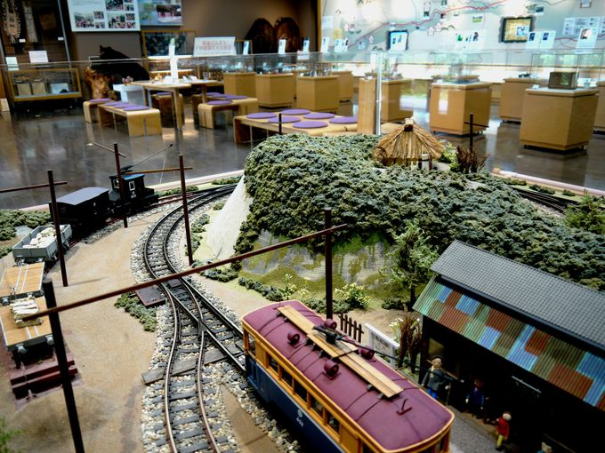 秋保の歴史から工芸まで展示スペースには秋保の魅力を凝縮!