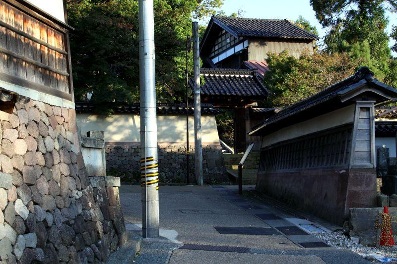城下町を守る為に作られた三つの寺町