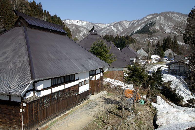 静かで素朴な山村集落の風情を楽しもう