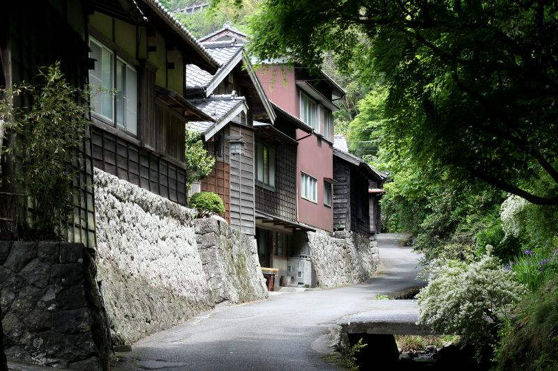 江戸時代からほとんど変わらぬ家の数