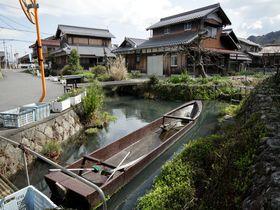 集落内を水路が巡る!滋賀県東近江市「伊庭」に残る水郷景観