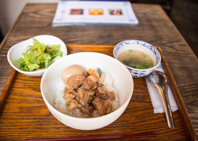軽めに済ませたい時は、台湾藝茶館 「月和茶(ゆえふうちゃ)」がお勧め