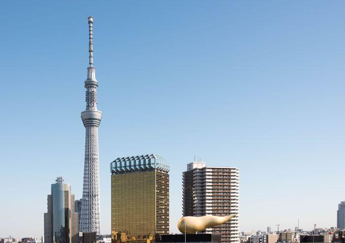 東京観光で絶対行きたい新ランドマーク「東京スカイツリー」