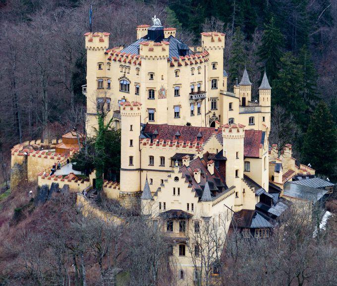 閑散期こその訪問に相応しい「シュバンガウ」の2つの城。やっぱり外せないや!