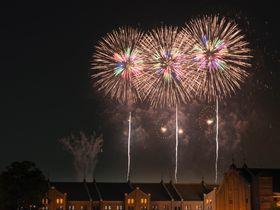 横浜「神奈川新聞社花火大会」夜景と花火の華やかな雰囲気を見に行こう|神奈川県|トラベルjp<たびねす>
