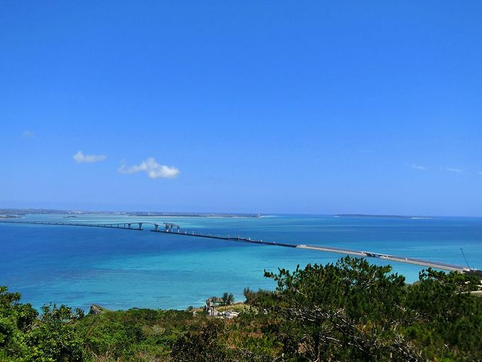 伊良部島の最高峰・牧山展望台【伊良部島】