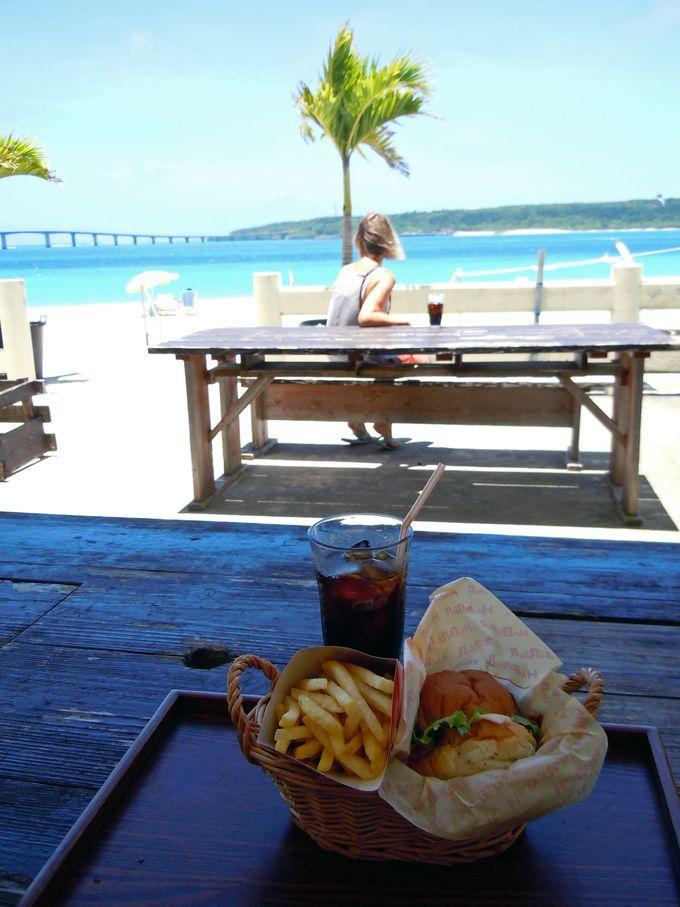 東洋一美しい海カフェ!ウインディまいばま