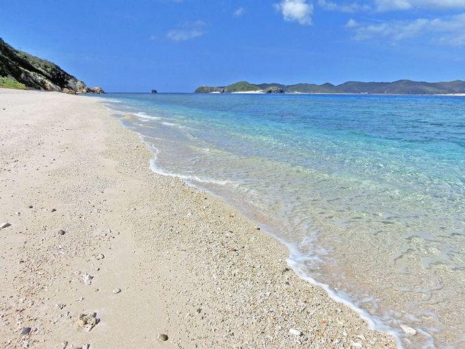 慶良間諸島で一番美しいビーチを堪能。阿嘉島