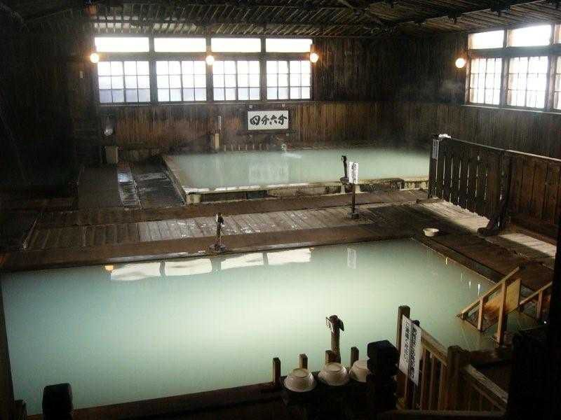 東の大御所 酸ヶ湯温泉