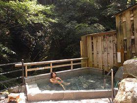 村の温泉が全て源泉かけ流し! 奈良県【十津川温泉郷】