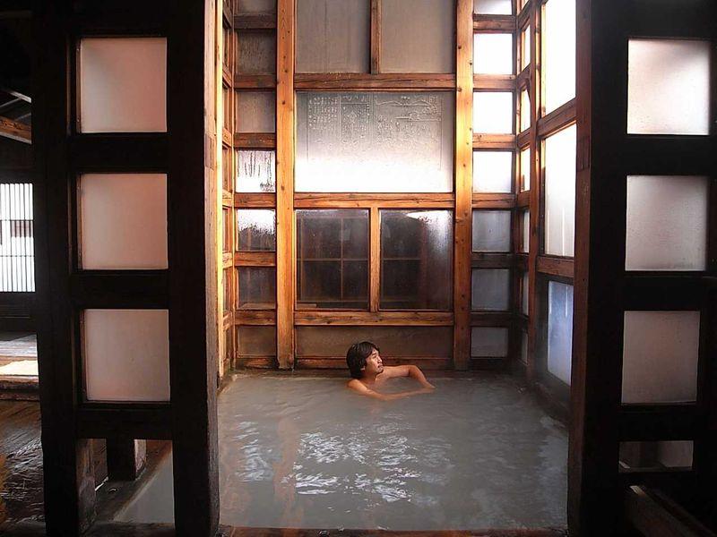 東の横綱 草津温泉 共同浴場巡り その1 【白旗の湯】