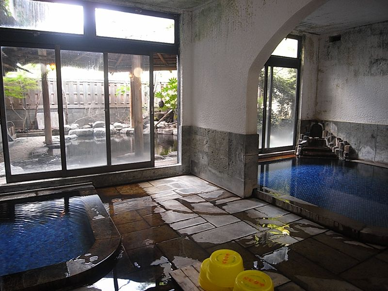 1階の大浴場はこちら!