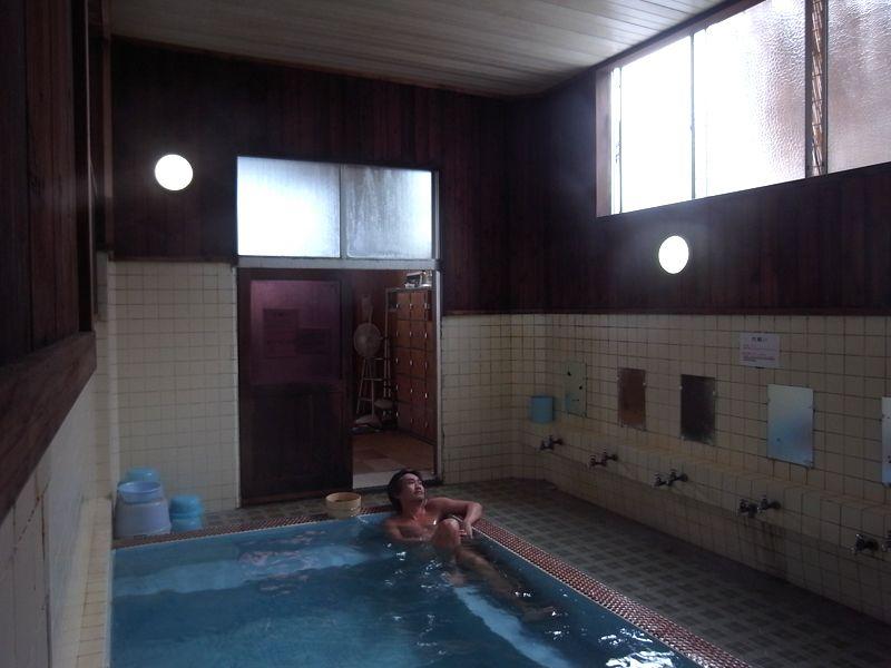 至福の湯浴み中