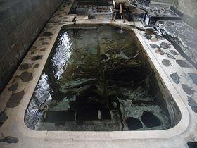 足元湧出の天然マーブル模様の浴槽!山形・赤倉温泉「三之亟」|山形県|トラベルjp<たびねす>