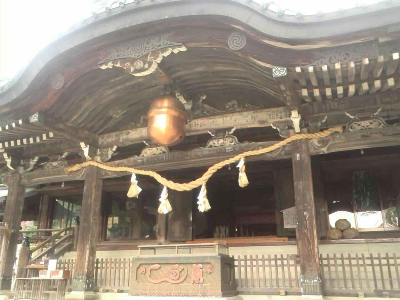 パワースポットその1 筑波山と筑波山神社