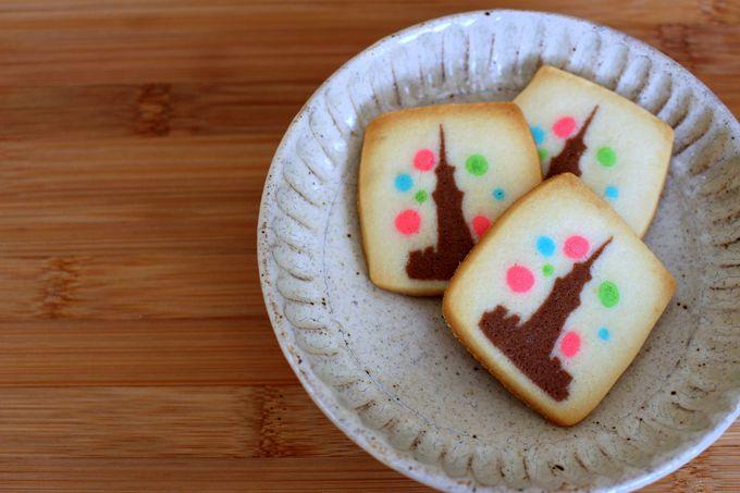 女子からの評価が高い!ポップな柄のクッキー