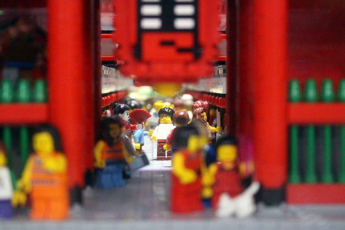 ミニランドは細かいところまで見て!そしてレゴ®ブロックをもっと楽しむ4Dシネマへ