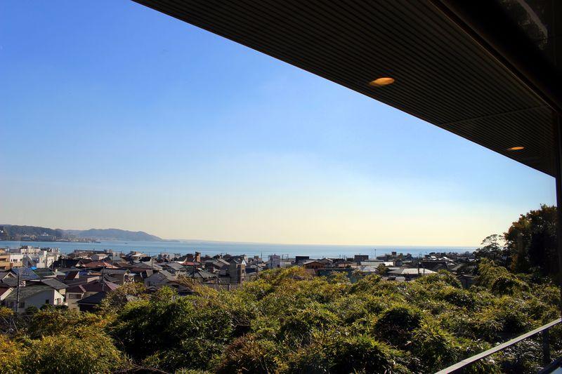 お寺の中に絶景レストランが!?鎌倉「長谷寺」でほっこりランチ