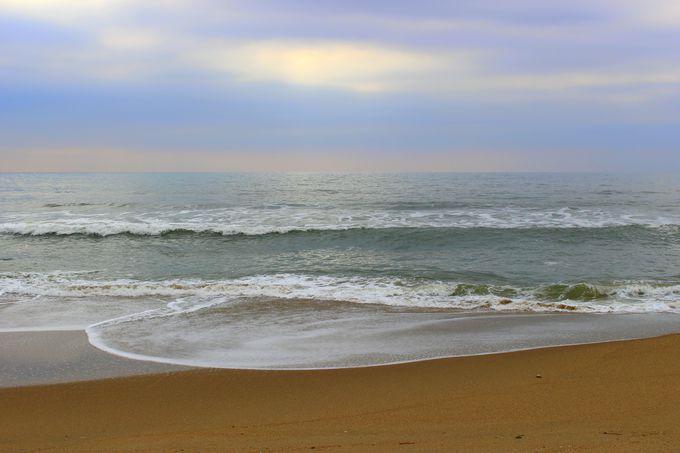 大海原を見渡せる絶好のロケーション