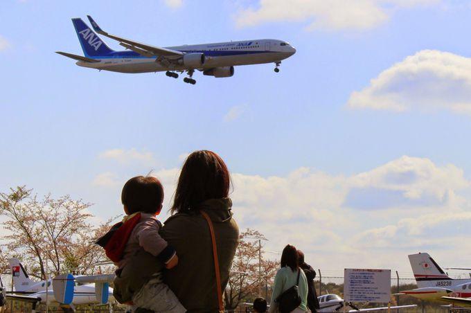 航空科学博物館は飛行機が見える穴場スポット!?