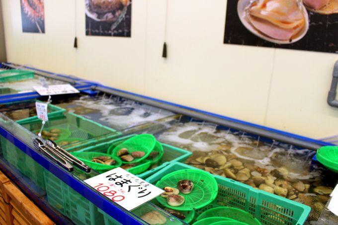 店内の水槽から食材を選ぼう!ちょっと楽しいお店のシステム!