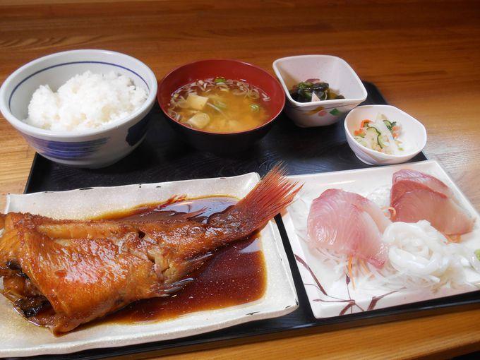 煮魚と刺身がうまい!「父ちゃん御膳」