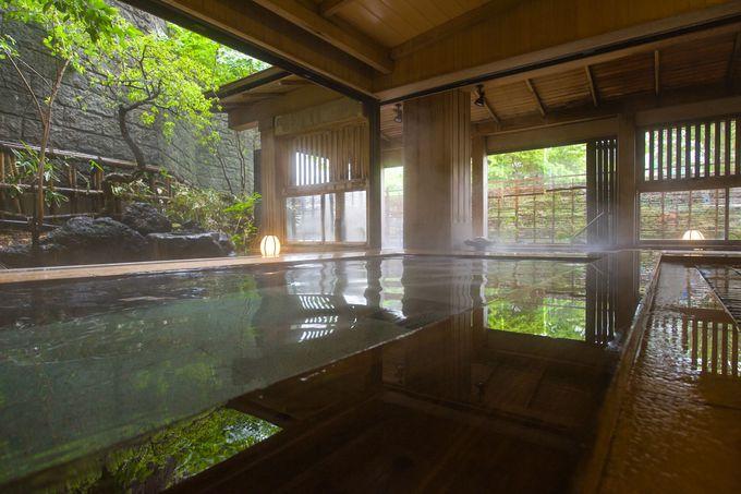檜香る大浴場「玉伊吹(たまいぶき)の湯」