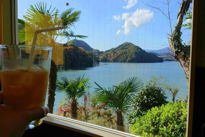 これが相模湖の過ごし方!絶景カフェ「COCCO+」やスワンボードも