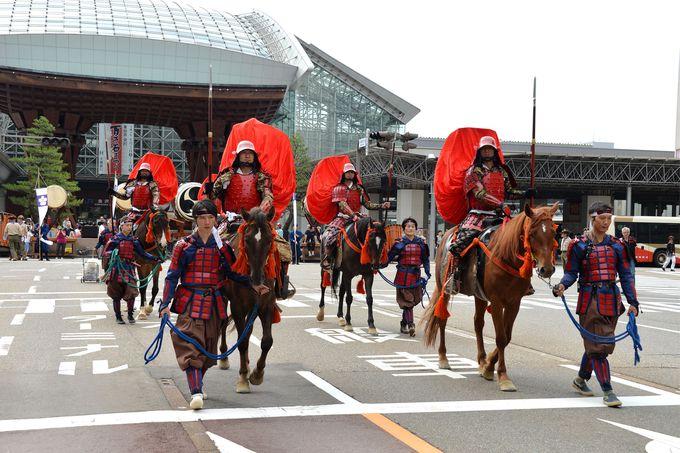 豪華絢爛の百万石まつりは必見!金沢の夏を彩る5つのイベント