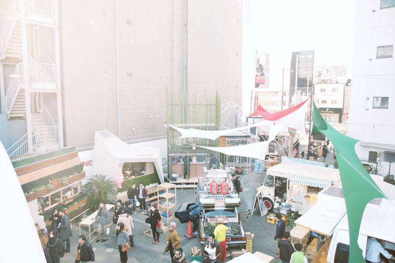 表参道に小さな街が!?「COMMUNE246」は新しいコミュニティ空間!