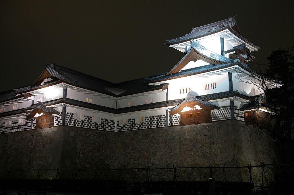 歴史が感じられる金沢城