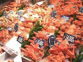 金沢「近江町市場」冬の海鮮グルメ&食べ歩きグルメ5店