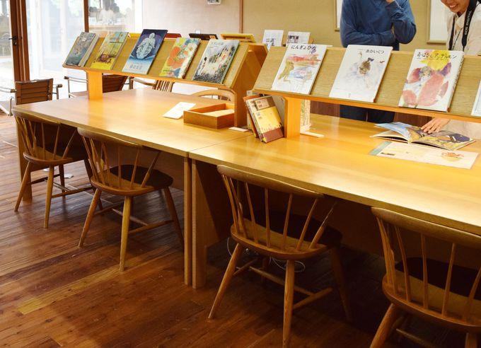 「子どもの展示室(トットちゃんの部屋)」「絵本の部屋」