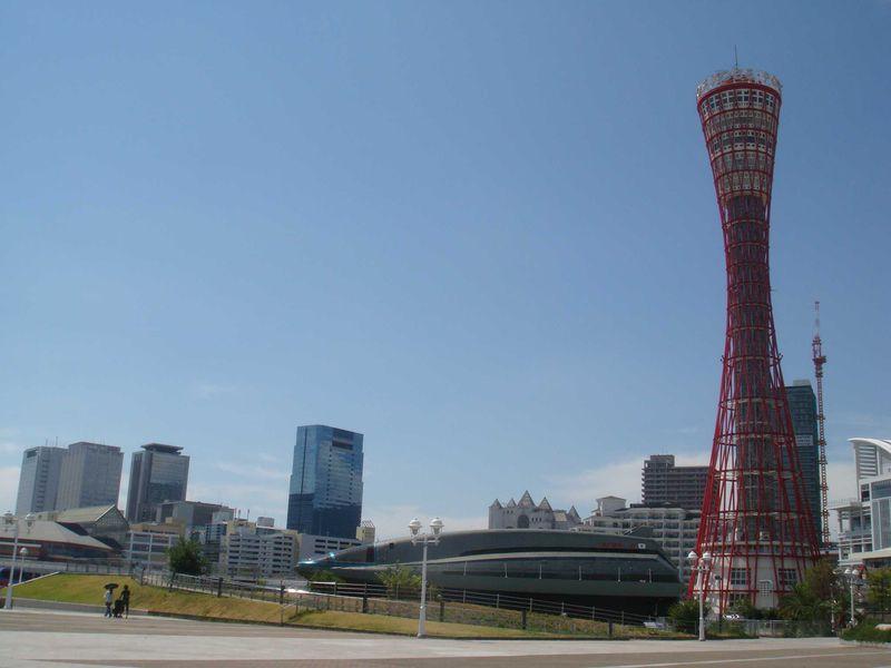 神戸の風景が360°パノラマで楽しめる!ポートタワー展望回転喫茶室