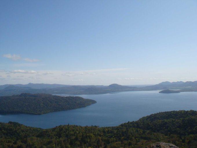 日本最大のカルデラ湖、屈斜路湖