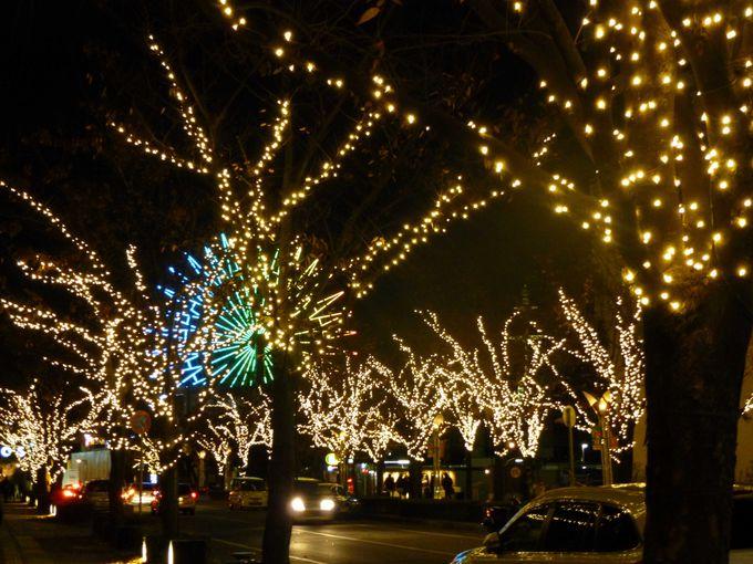 神戸ガス燈通りからハーバーロードへ