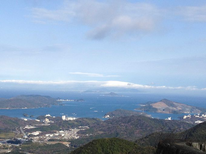朝熊山頂からの眺望
